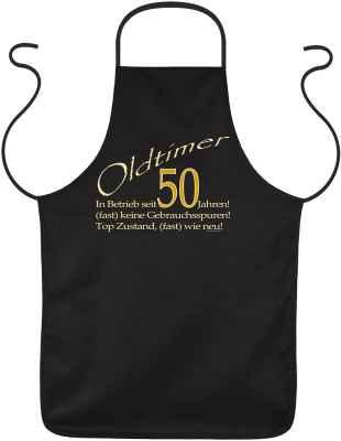 Schürze: Oldtimer - In Betrieb seit 50 Jahren!...