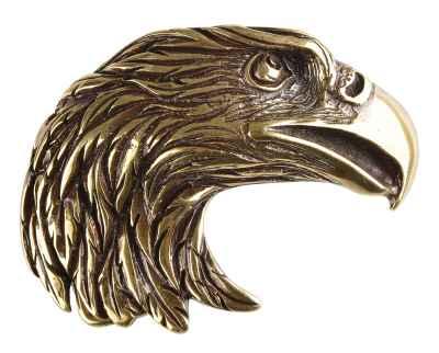 Gürtelschliesse: Adler 9 x 6,5 cm