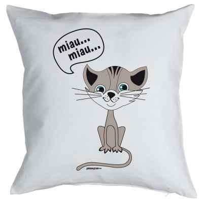 Kissenbezug: Miau Miau?