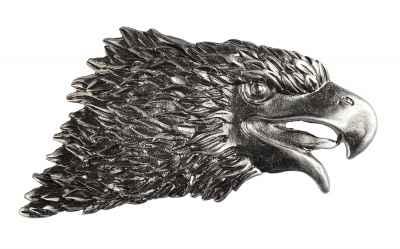 Gürtelschliesse: Adler 11 x 6 cm