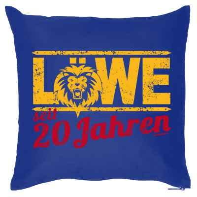 Kissenbezug: Löwe seit 20 Jahren
