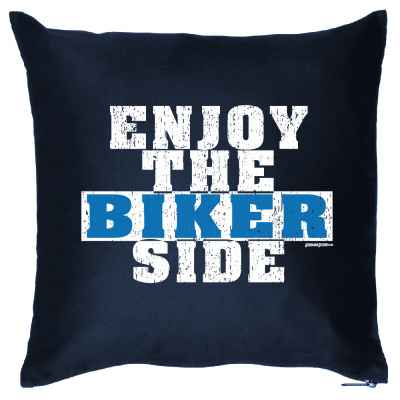 Kissenbezug: Enjoy the Biker Side
