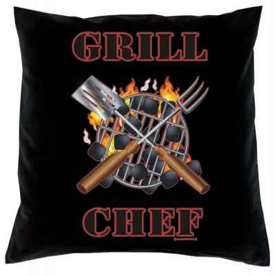 Kissenbezug: Grill Chef