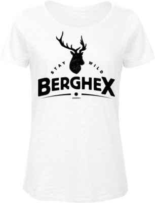 Trachten Damen T-Shirt: Stay wild Berghex