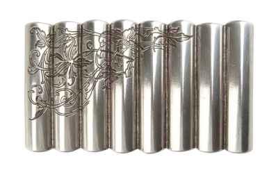 Gürtelschliesse: Ornamente 8,5 x 4,9 cm 40 mm