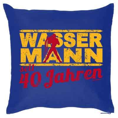 Kissenbezug: Wassermann seit 40 Jahren