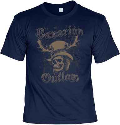 T-Shirt Trachten: Bavarian Outlaw