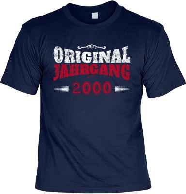 T-Shirt: Original Jahrgang 2000