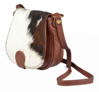Handtasche: Kuhfelltasche klein