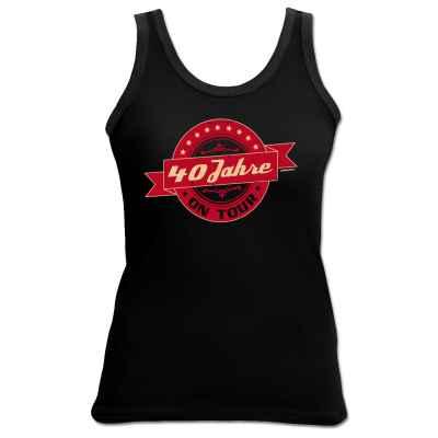 Tank Top Damen: 40 Jahre on Tour