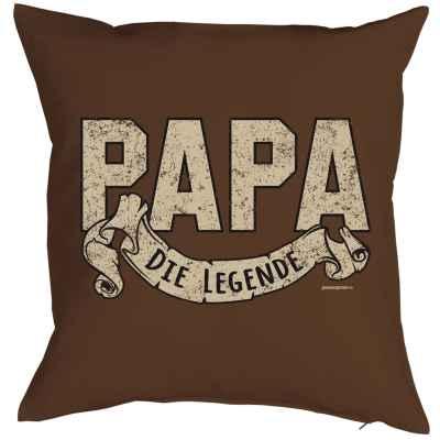 Kissen mit Füllung: Papa die Legende