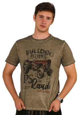 Bulldog Power Trachten T-Shirt