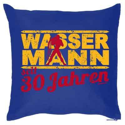 Kissenbezug: Wassermann seit 30 Jahren