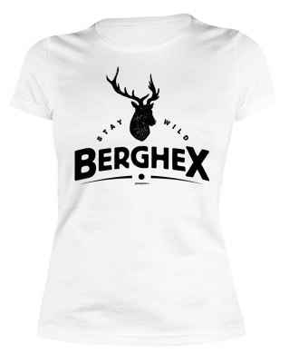 Damen T-Shirt: Stay wild Berghex