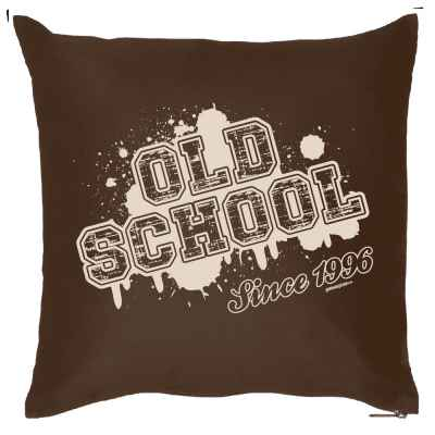 Kissenbezug: Old School since 1996