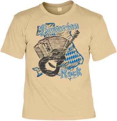 Trachten T-Shirt: Bavarian Rock
