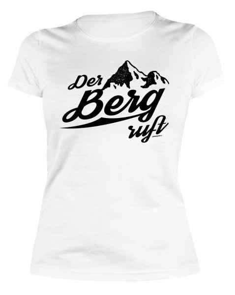 Damen T-Shirt: Der Berg ruft