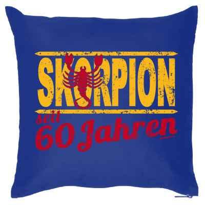 Kissenbezug: Skorpion seit 60 Jahren