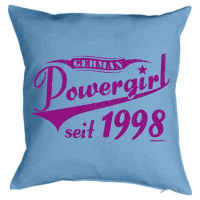 Kissenbezug: German Powergirl seit 1998