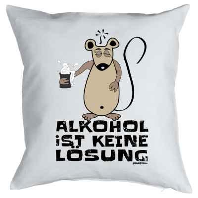 Kissenbezug: Alkohol ist keine Lösung