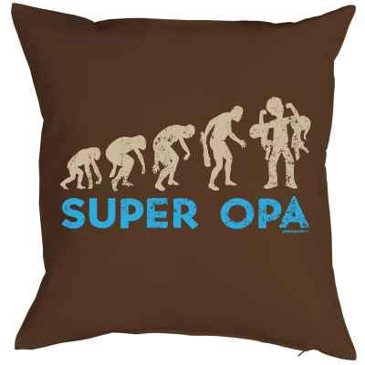 Kissenbezug: Super Opa - Evolution