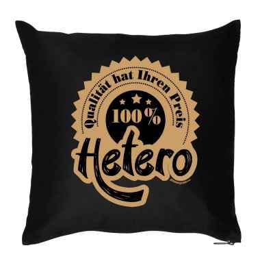 Kissen mit Füllung: Qualität hat ihren Preis - 100 Prozent Hetero