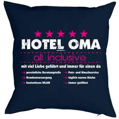 Kissenbezug: Hotel Oma - all inclusive - mit viel Liebe geführt und immer für einen da?