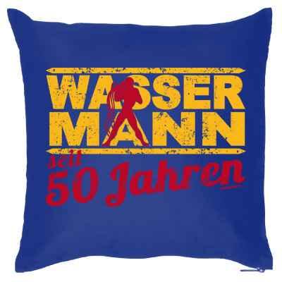 Kissenbezug: Wassermann seit 50 Jahren