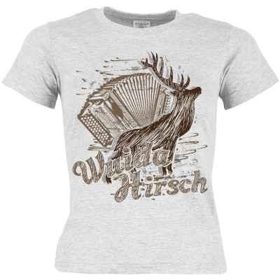 Trachten T-Shirt Mädchen: Wuida Hirsch