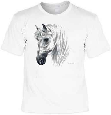 T-Shirt: Tranko Andalusian - weißer Andalusier