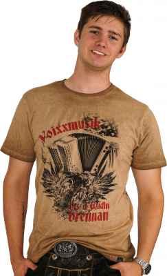 Voixxmusik bis d Wadln brennan Trachten T-Shirt