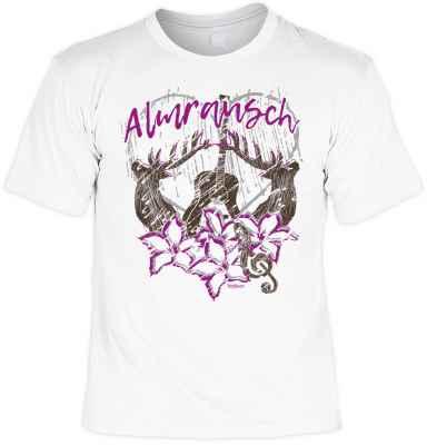 Trachten T-Shirt: Almrausch