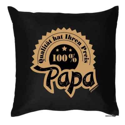 Kissen mit Füllung: Qualität hat ihren Preis - 100 Prozent Papa