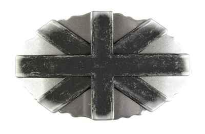 Gürtelschliesse: Kreuz 8 x 5 cm