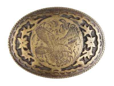 Gürtelschliesse: Adler 8,2 x 6 cm