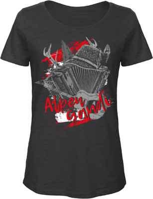 Damen Trachten T-Shirt: Alpen Gaudi