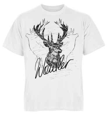 Trachten T-Shirt: Hirsch - Waidler