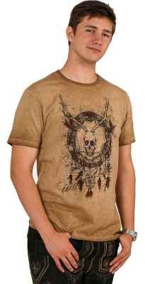 Skull Dreamcatcher Trachten T-Shirt