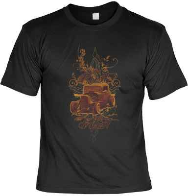 T-Shirt: Hod Rod - In Rust we Trust