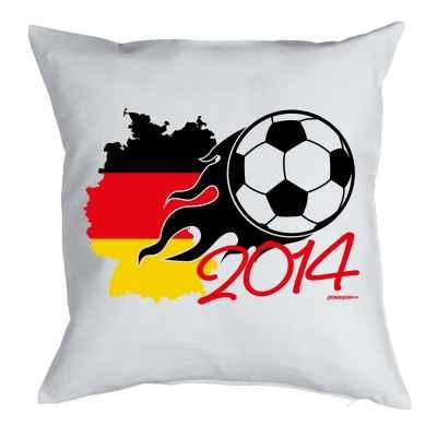 Kissen mit Füllung: Fussball WM 2014