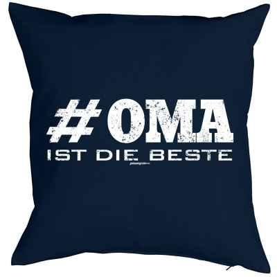 Kissenbezug: # Oma ist die Beste