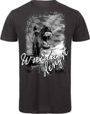 Trachten T-Shirt: Wuida Hengst