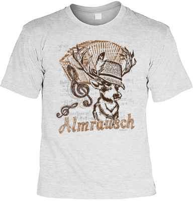 T-Shirt im Trachtenlook: Almrausch