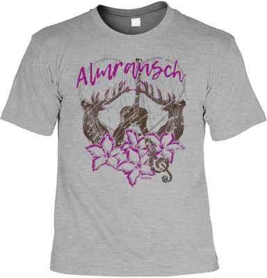 Landhaus T-Shirt: Almrausch