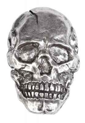 Gürtelschliesse: Skull 7,3 x 5 cm