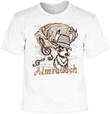 Shirt Trachtenstil: Almrausch