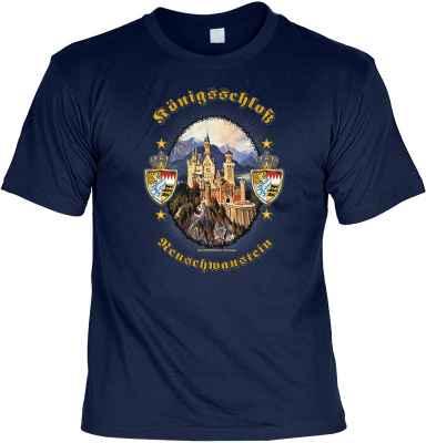 T-Shirt: Königsschloss Neuschwanstein