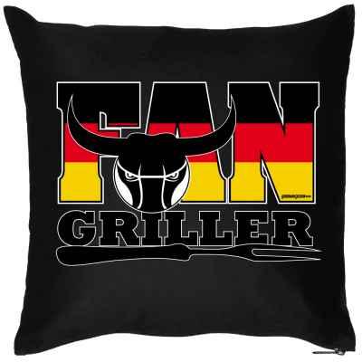 Kissen mit Füllung: Fan-Griller
