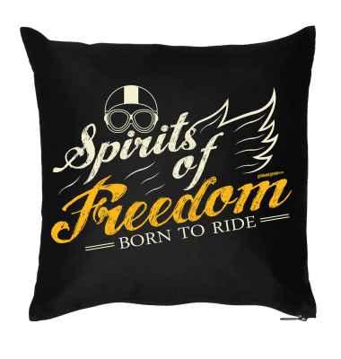 Kissenbezug: Spirits of Freedom - Born to Ride