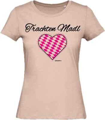 Damen T-Shirt: Trachten Madl